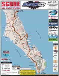 Baja Map Baja Sur 500 Map Whos In Page 2 Race Dezert