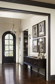 Foyer In Paris 25 Beautiful Examples Of Colored Trim Baseboard Bold Colors And