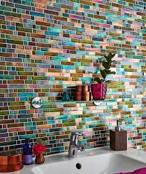 Colorful Bathroom Tile Best 25 Mosaic Tile Bathrooms Ideas On Pinterest Gray And White