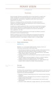 Resume Templates For Administration Job by Project Administrator Resume Samples Visualcv Resume Samples