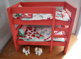 Woodworking Plans Doll Bunk Beds by Diy Doll Bunk Beds Pa Country Crafts