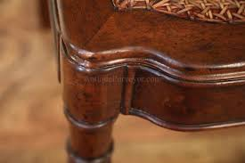 Solid Walnut Dining Chairs by Solid Walnut Antique Reproduction Cane Seat Dining Chair