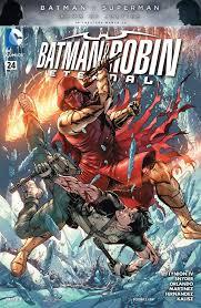 batman and robin eternal 24 review batman news