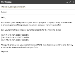 the science of contacting suppliers when you re starting a business