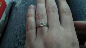 engagement rings size 8 7 to 75 carat stones would to see yours weddingbee