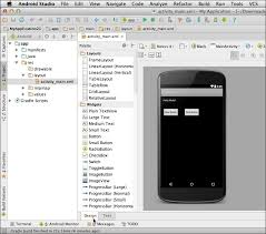 android studio button creating a prototype in android studio android ui design