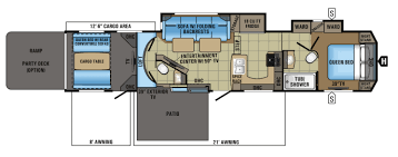 durango 5th wheel floor plans kitchen voltage toy hauler floor plans new k z inc durango gold