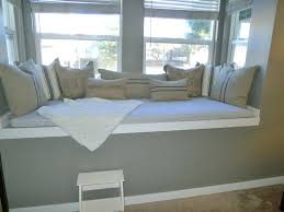 Image Of Window Seat Storage Bench With Pillow Diy Window Bench