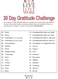 30 day gratitude challenge yeah ready to be more thankful