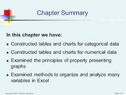 chapter 2 organizing and visualizing data ppt video online download