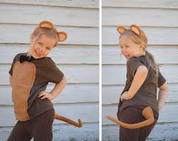 Halloween Rat Costume Handmade Halloween Animal Mouse Brown Rat Costume Order
