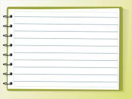 microsoft word notebook paper template free printable letterhead