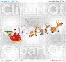 royalty free rf clip art illustration of santa in flight with