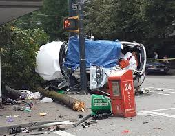 metro lexus toyota vancouver two people killed three injured in downtown vancouver suv crash