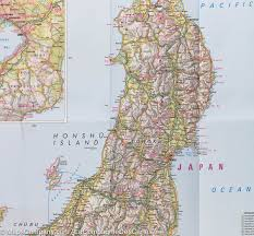 Map Japan Map Of Japan Nelles Map U2013 Mapscompany