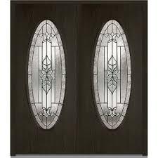 double door dark brown wood front doors exterior doors the