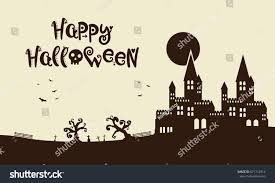 happy halloween background images happy halloween background castle stock vector 671712514
