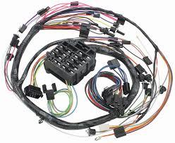 m u0026h 1968 chevelle dash instrument panel harness console auto