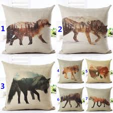 decorative sofa pillows compare prices on wolf pillows online shopping buy low price wolf