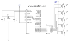 interfacing relay with pic microcontroller mikroc