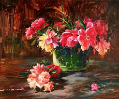 The Most Famous Paintings Flower Paintings By Famous Artists Famous Artwork In Giverny Have