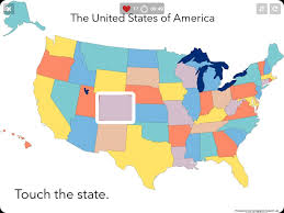 map usa states template map usa states quiz images quizzes us 50 naming with world