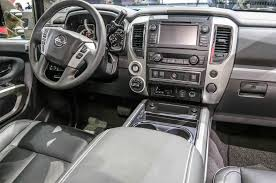 nissan titan cummins interior 2016 nissan titan first look motor trend