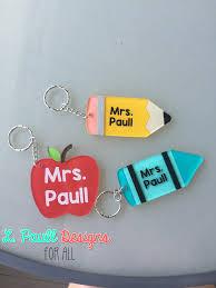 teacher key chains