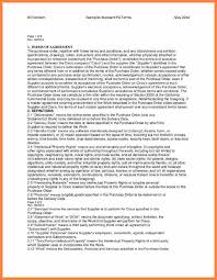 9 terms and conditions for purchase order template purchase