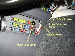 installing trailer brake controller and rv charging wire honda