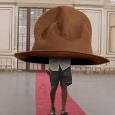 Pharrell Hat Meme - watch pharrell mocks his own grammys hat with spoof hatty video