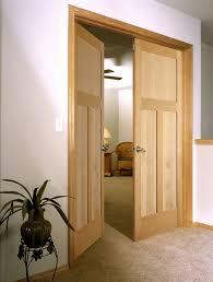 Solid Maple Interior Doors Doors Inspiring Interior Wood Doors Applying Silver Knob