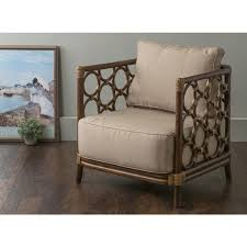 Rattan Accent Chair East At S Alstead Brown Square Rattan Accent Chair Free