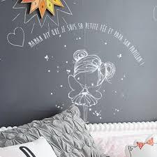 deco fee chambre fille stickers fée et papillon chambre de fille deco chambre
