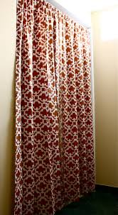 Cape Cod Curtains The Yellow Cape Cod Makeover Target Style No Sew Custom Shower