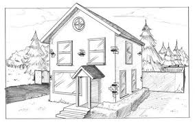 house drawings t squared house drawing