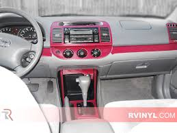 toyota camry 2002 value toyota camry 2002 2006 dash kits diy dash trim kit