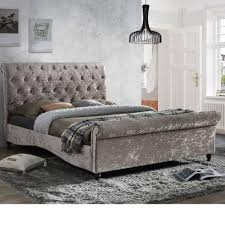 Pine Sleigh Bed Frame Home Decor Sleigh Bed And Bed Frame With Storage Happy
