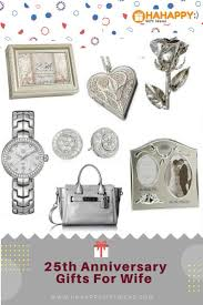 wife gift ideas the best silver 25th wedding anniversary gifts for wife hahappy gift