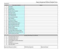 8d report template failure analysis report template tm sheet