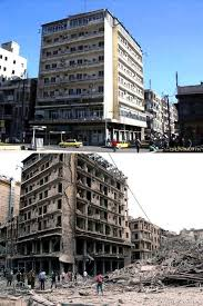 syria before and after a syrian restaurant is posting before and after photos of aleppo and
