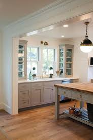 Light Kitchen Cabinets Gray Kitchen Cabinets With Floating White Shelves Transitional