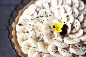 cuisine crue et vivante food alimentation vivante tarte à la banane tarte crue