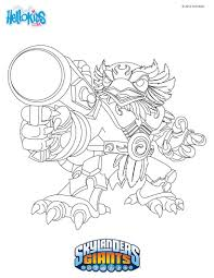 skylanders giants coloring pages 52 free online printables for kids