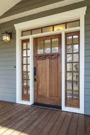 Wood Exterior Door Dc Fix Mirrored Window Window Window And