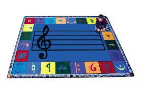 Large Kids Rug Joy Carpets Note Worthy Music Room Area Rugs