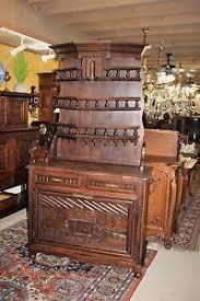 Oak Buffet Server Sideboard Beautiful French Antique Brittany Carved Oak Buffet Server