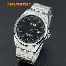Jam Tangan Alba terjual jam tangan alba pria cowok analog rantai w654 kaskus