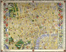 Map Of London England by 11 Hand Drawn Maps To Adorn Any London Lover U0027s Wall U2013 Now Here