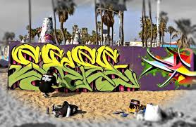 venice graffiti artist caught in action 2 28 16 youtube